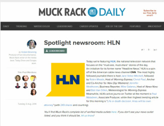 muckrack.com article